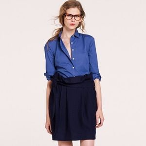 NWT J.Crew Stretch Perfect Shirt in Courier Blue